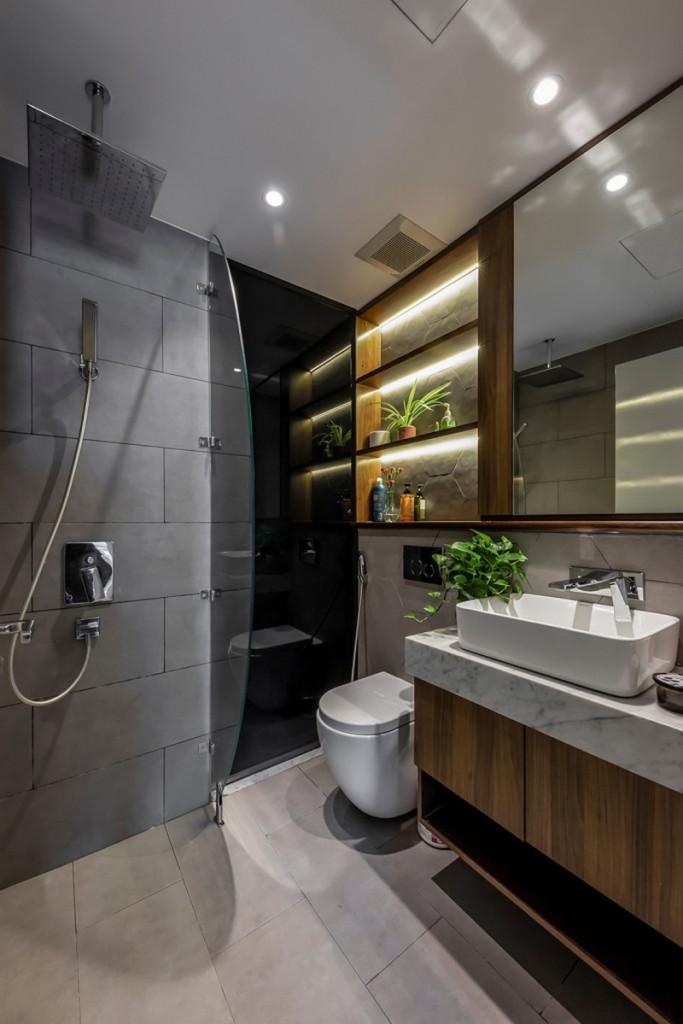 Phòng tắm, nhà vệ sinh master
