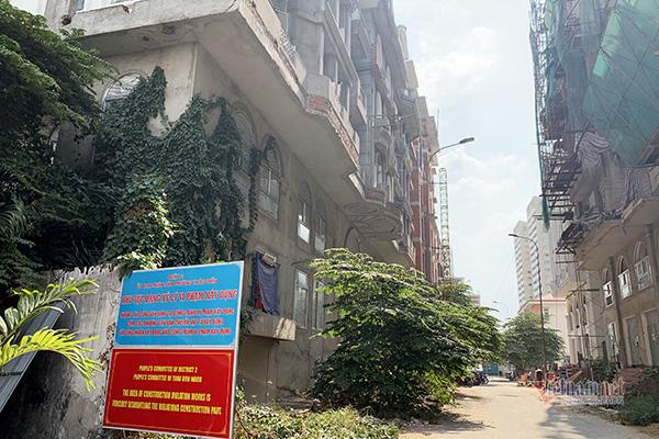 Một số căn nhà xây sai phép tại phường Thảo Điền, quận 2, hơn 2 năm qua vẫn chưa bị xử lý dứt điểm