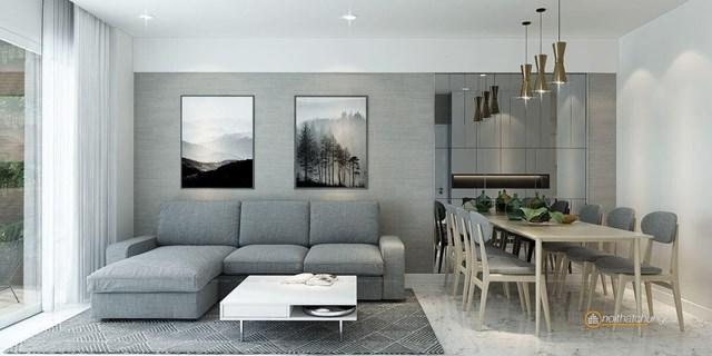 Ví dụ minh hoạ về việc sử dụng nội thất cho phong cách hiện đại