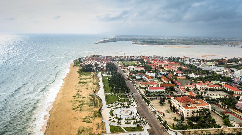 Đô thị biển phía Nam Tuy Hoà, Phú Yên (Ảnh: Phú Đức)
