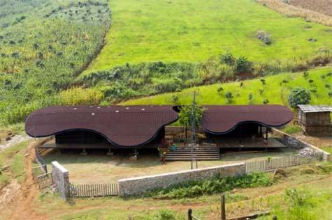 Ý tưởng về một trạm kết nối - kiến trúc không chỉ đơn thuần trong phạm vi ứng dụng chức năng, thẩm mỹ bền vững mà kiến trúc còn phải tạo ra một bầu không khí hứng khởi cho người sử dụng.