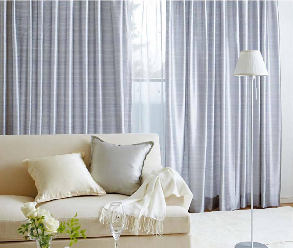 Rèm cửa hai lớp giúp điều khiển lượng ánh sáng vào phòng theo từng thời điểm trong ngày