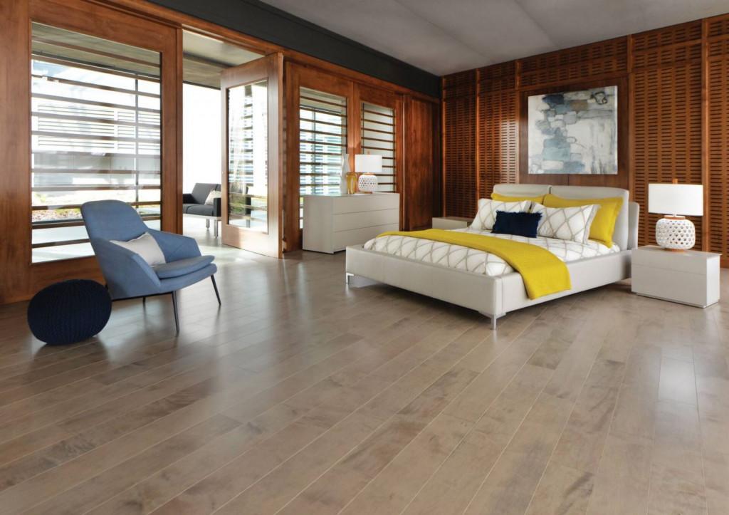 Sàn gỗ công nghiệp dễ lau chùi, bảo dưỡng