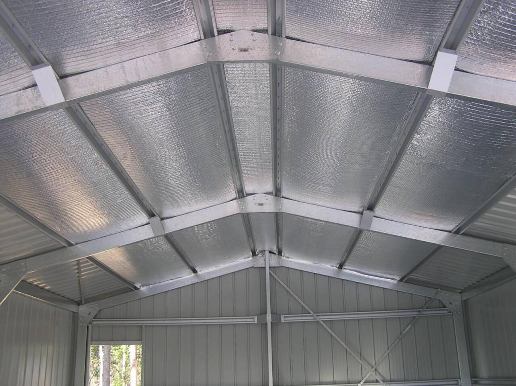 Sử dụng túi khí cách nhiệt cho trần nhà