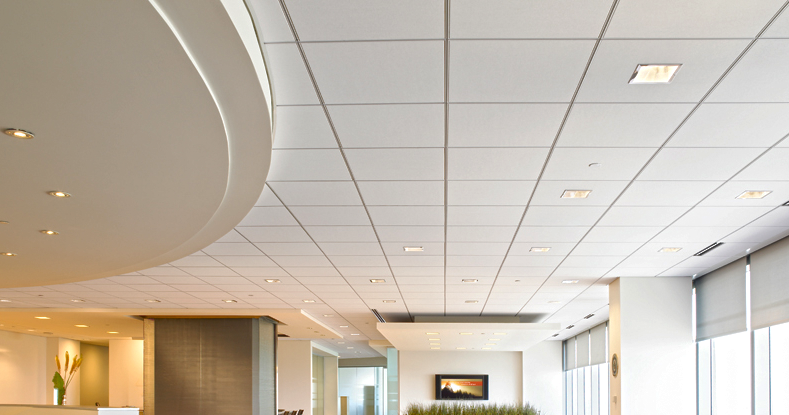 Thạch cao tấm thường được sử dụng ốp trần nhà