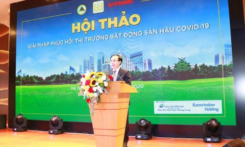 """Hội thảo """"Giải pháp phục hồi thị trường bất động sản hậu COVID-19"""""""