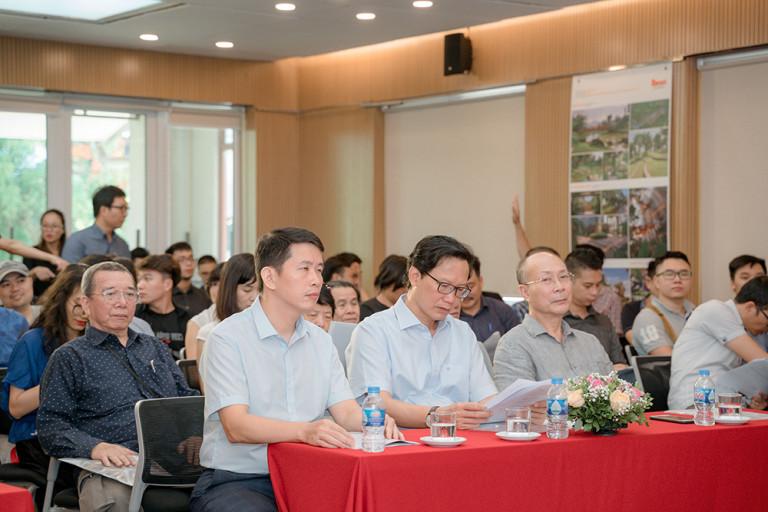 Cuộc thi thu hút đông đảo khách mời tham dự
