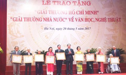 Xét tặng Giải thưởng Hồ Chí Minh, giải thưởng Nhà nước về Văn học nghệ thuật năm 2021