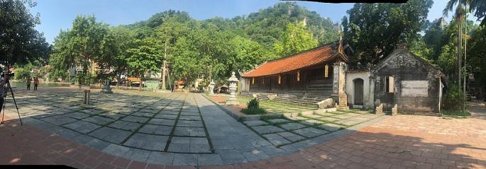 Di tích chùa Thầy (ảnh minh họa: P.C)