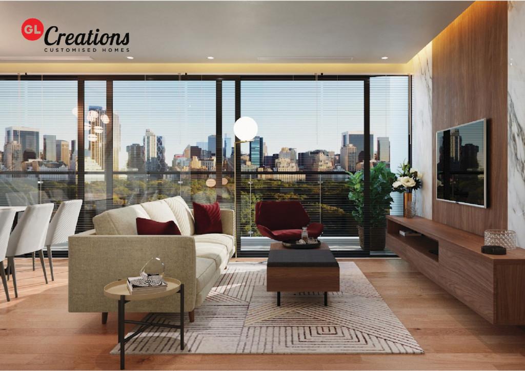GL Creations cho phép khách hàng được trải nghiệm mô phỏng để hình dung toàn diện căn hộ hoàn thiện của mình thông qua ứng dụng công nghệ 1