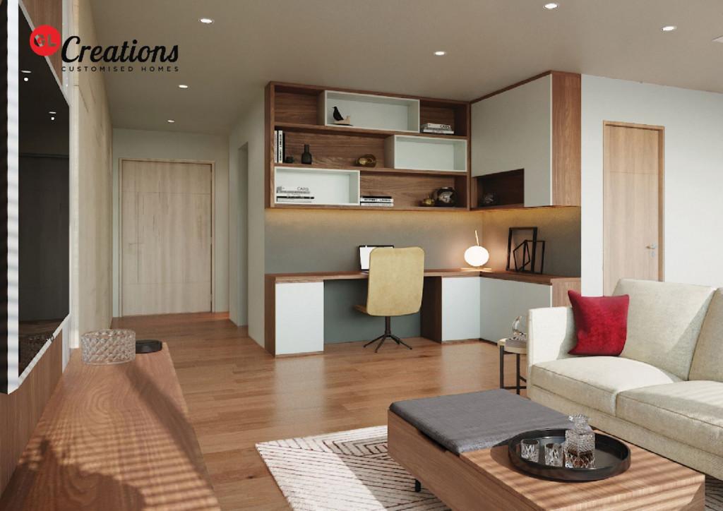 GL Creations cho phép khách hàng được trải nghiệm mô phỏng để hình dung toàn diện căn hộ hoàn thiện của mình thông qua ứng dụng công nghệ
