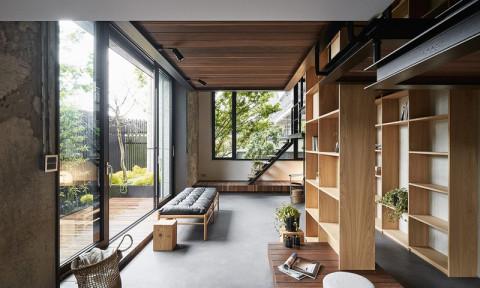 Ngôi nhà có phòng ngủ treo ấn tượng