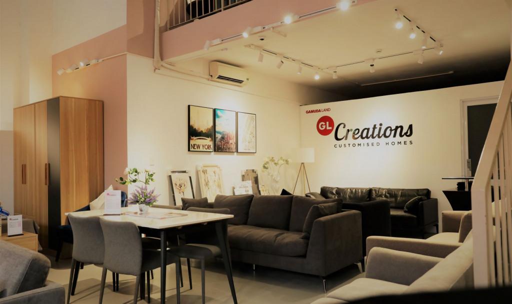 Nội thất sang trọng bên trong showroom GL Creations