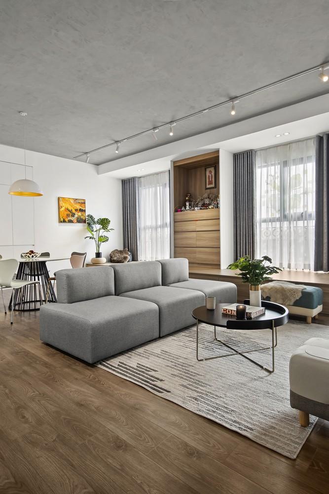Hiểu được vấn đề trên, khi bắt tay vào cải tạo thiết kế căn hộ, nhóm kiến trúc sư đã nghiên cứu và đưa ra giải pháp tối ưu để cải tạo không gian sống.