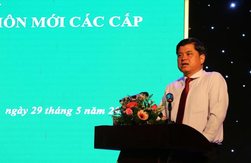 Thứ trưởng Bộ NN & PTNT Trần Thanh Nam phát biểu chỉ đạo tại Hội nghị