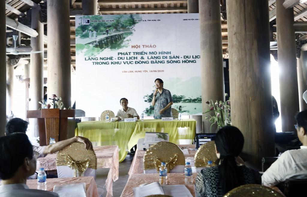 Hội thảo được tổ chức tại chùa Nôm – Hưng Yên