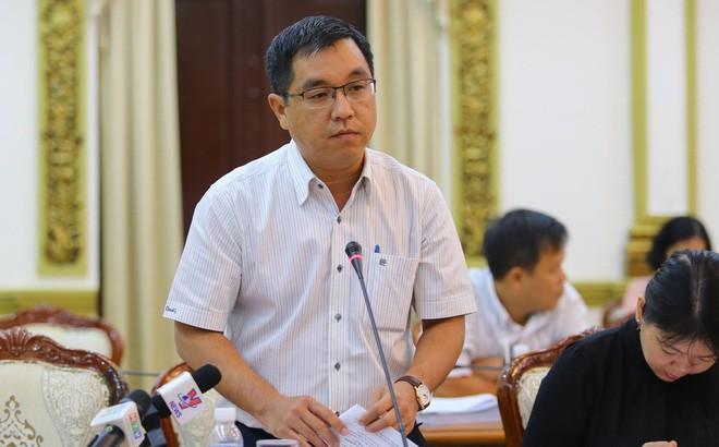 Ông Huỳnh Thanh Khiết, Phó giám đốc Sở Xây dựng TPHCM
