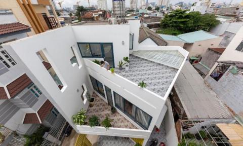 Ấn tượng lạ với ngôi nhà phố trên khu đất hình ngũ giác