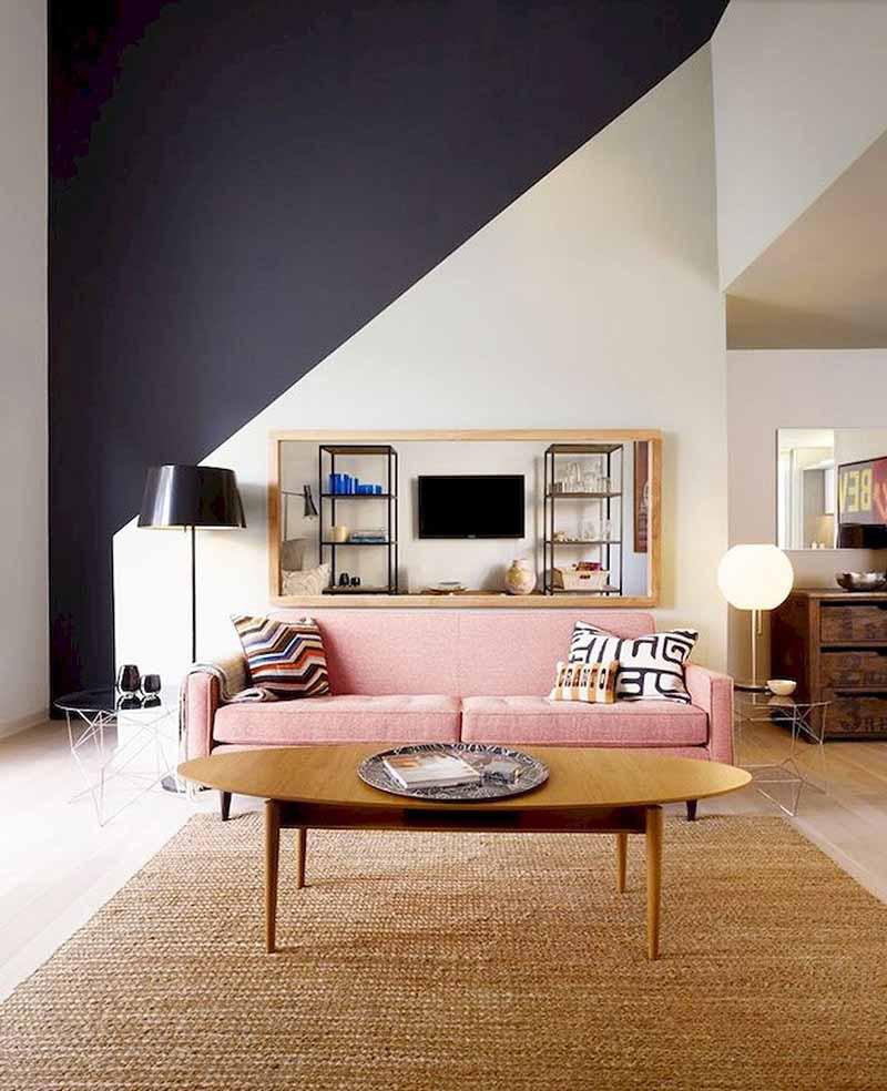 Sử dụng họa tiết để trang trí không gian sống gia đình không phải là điều mới mẻ với nhiều gia đình