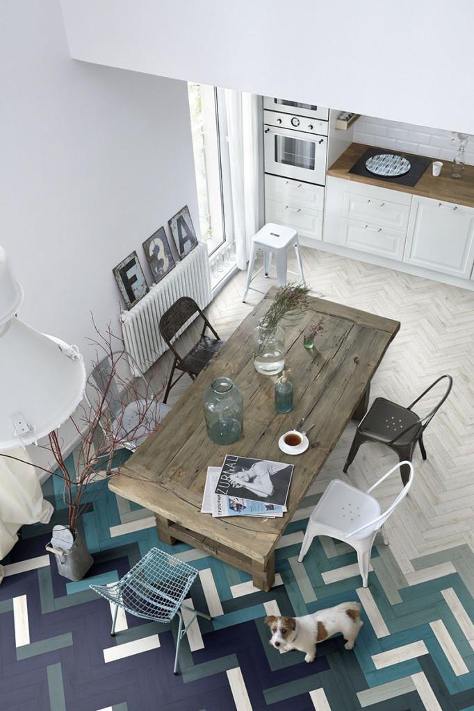 Thực tế là bạn có thể áp dụng rất nhiều kiểu họa tiết để trang trí không gian sống gia đình