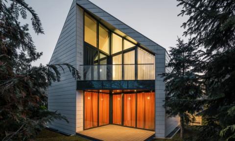 Ngôi nhà với ý tưởng thiết kế lạ gây ấn tượng mạnh