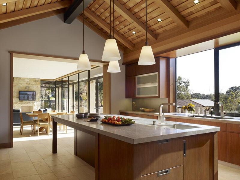 Đến nay, gỗ vẫn là chất liệu được nhiều gia đình ưu ái cho những thiết kế trong không gian sống