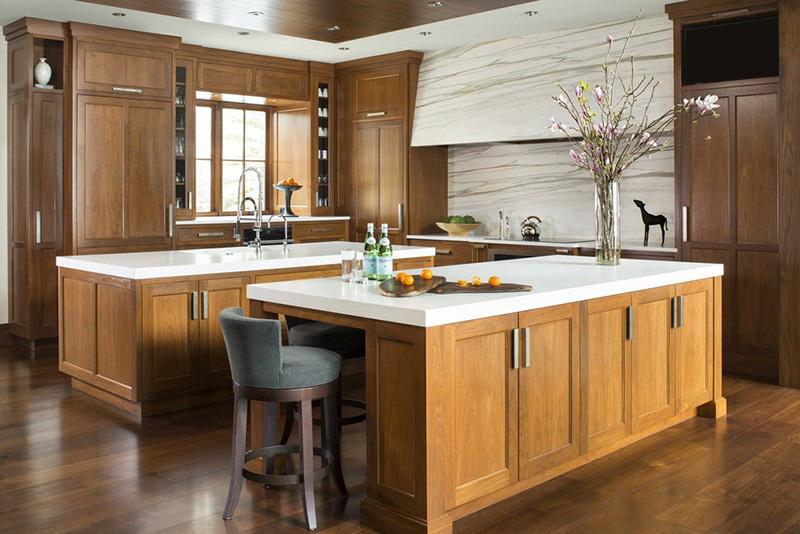 Những căn bếp mang sự hòa trộn giữa nét truyền thống và vẻ đẹp hiện đại như thế này hứa hẹn sẽ còn là xu hướng lựa chọn của các gia đình trong nhiều năm tiếp theo