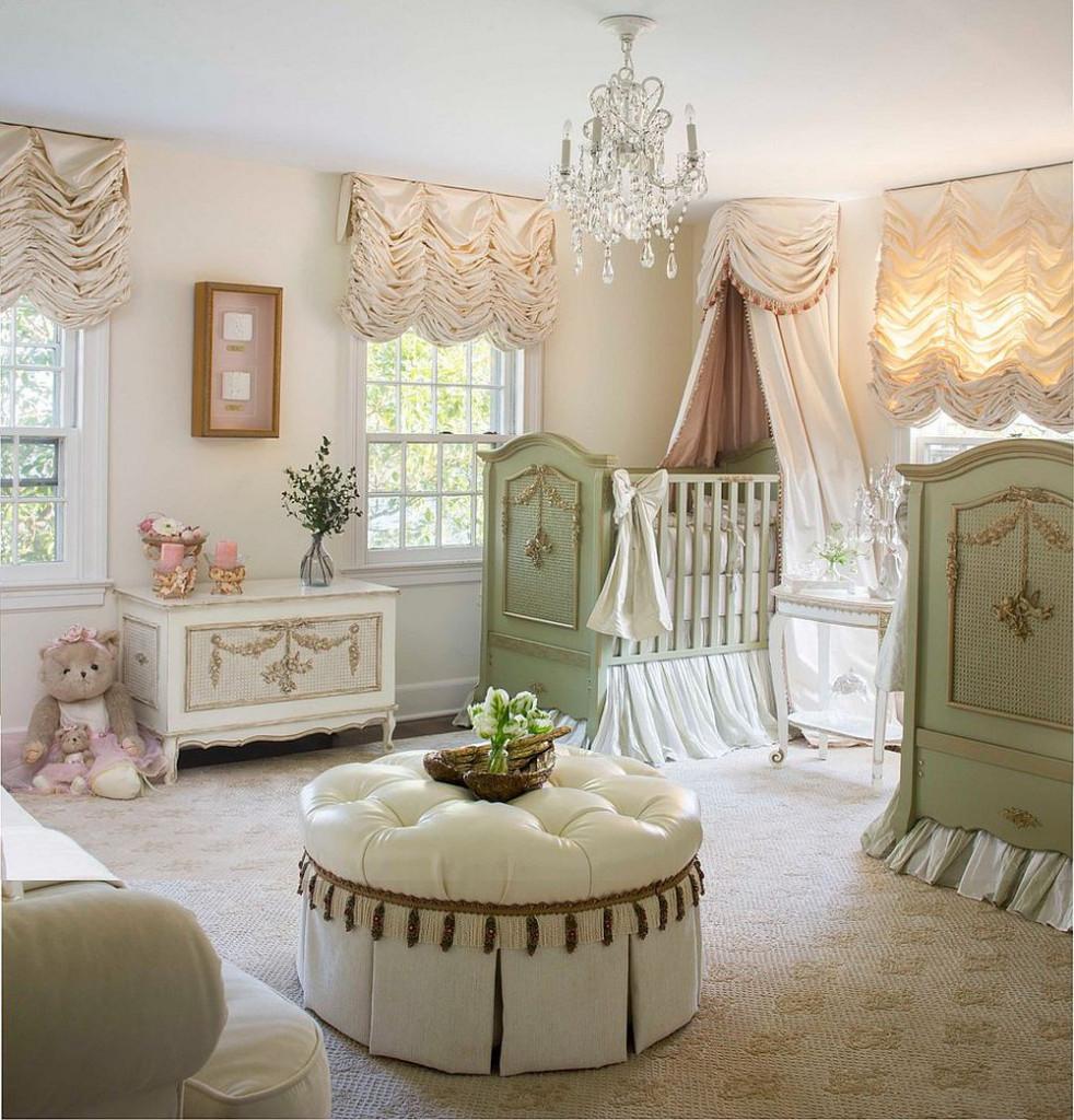 Phong cách Shabby Chic tạo vẻ đẹp sang trọng, dễ thương cho phòng của bé