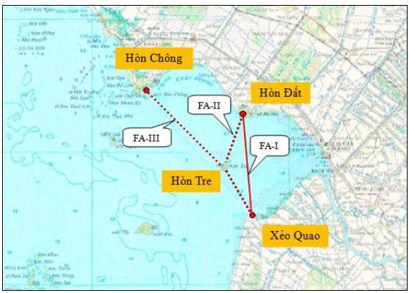 Mô hình tuyến đê biển lấn biển vùng vịnh Rạch Giá – Kiên Giang. Khi được thực hiện sẽ mang lại hiệu quả không thể đo đếm. Ảnh: Kiengiang.gov.vn
