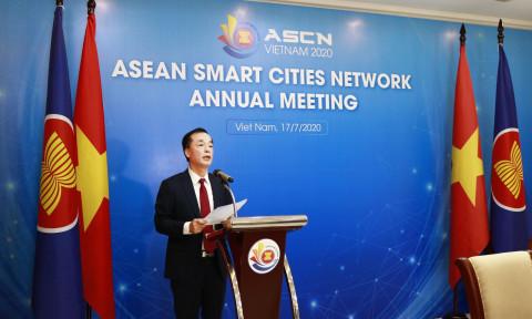 Khai mạc Hội nghị Thường niên Mạng lưới Đô thị thông minh ASEAN năm 2020