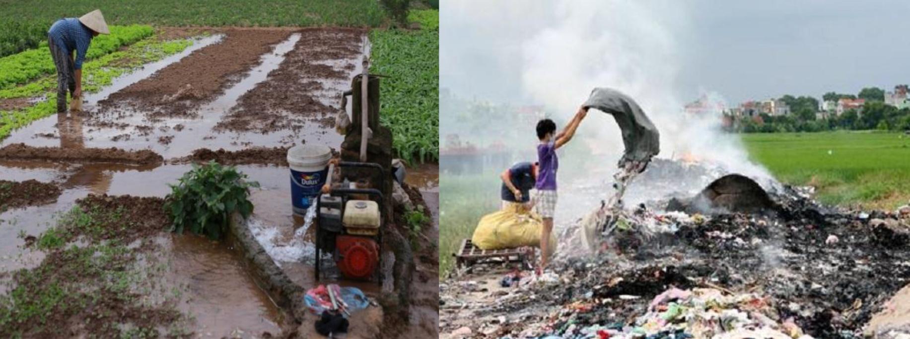 Nông thôn Việt Nam đối với môi trường đo lường, khô hạn, suy vi tài nguyên đất và nước