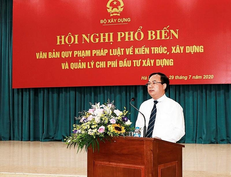 Thứ trưởng Nguyễn Văn Sinh chỉ đạo tại Hội nghị