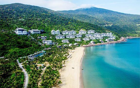 Khu nghỉ dưỡng InterContinental Danang Sun Peninsula Resort (Đà Nẵng) do Tập đoàn Sun Group xây dựng. Ảnh: qdnd.vn