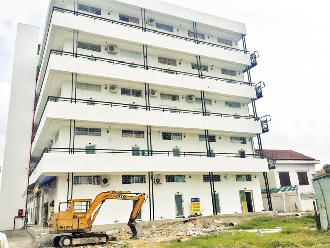"""Công trình nhà ở riêng lẻ tại quận Thủ Đức được rao bán là """"chung cư mi-ni"""""""