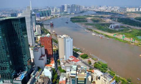 Thành Phố Hồ Chí Minh hướng ra biển đông
