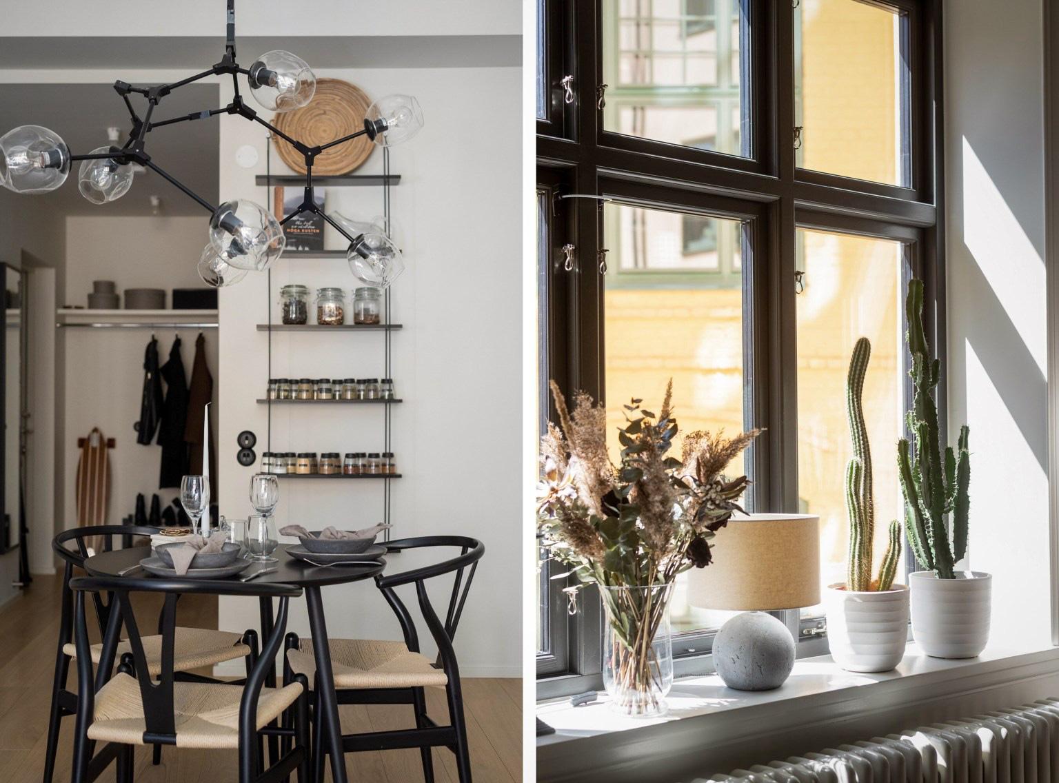 Các không gian được sắp xếp hợp lý, lựa chọn nội thất phù hợp với bảng màu chung của căn hộ
