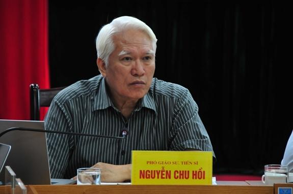 PGS, TS Nguyễn Chu Hồi. Ảnh: Tổng cục Biển và Hải đảo Việt Nam