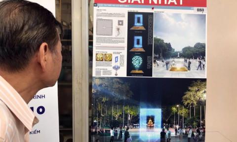 Hà Nội tiết lộ thiết kế Cột mốc số 0 bên bờ hồ Hoàn Kiếm