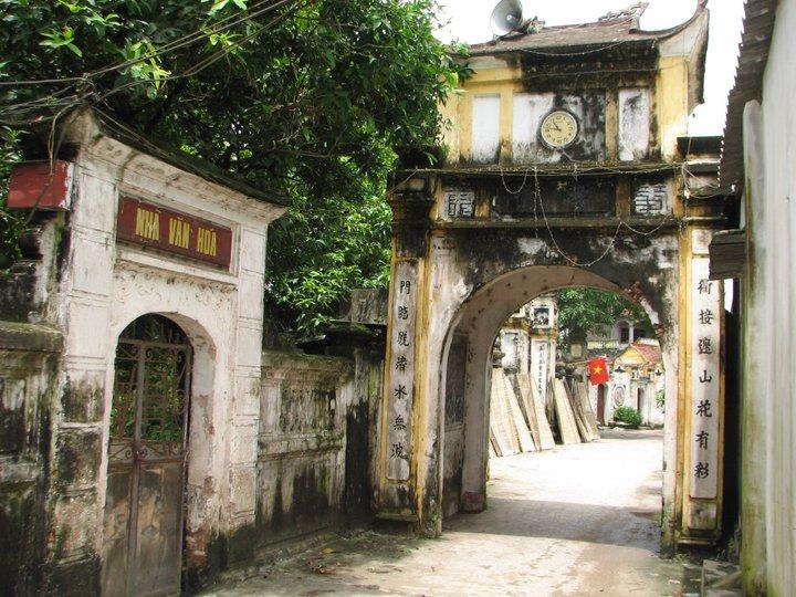 Đường làng cổ Cự Đà, Cự Khê, Hà Nội