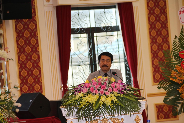 TS. KTS Ngô Doãn Đức – t/m Ban thường vụ Hội KTS phát biểu tại Đại hội KTS Hà Nam
