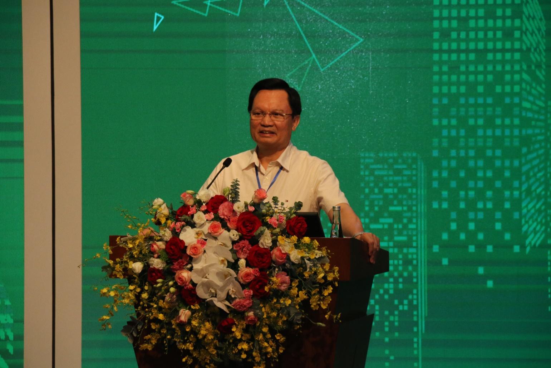 GS.TS. Mai Hồng Bàng - Giám đốc Bệnh viện trung ương 108 phát chia sẻ kinh nghiệm xây dựng bệnh viện 108
