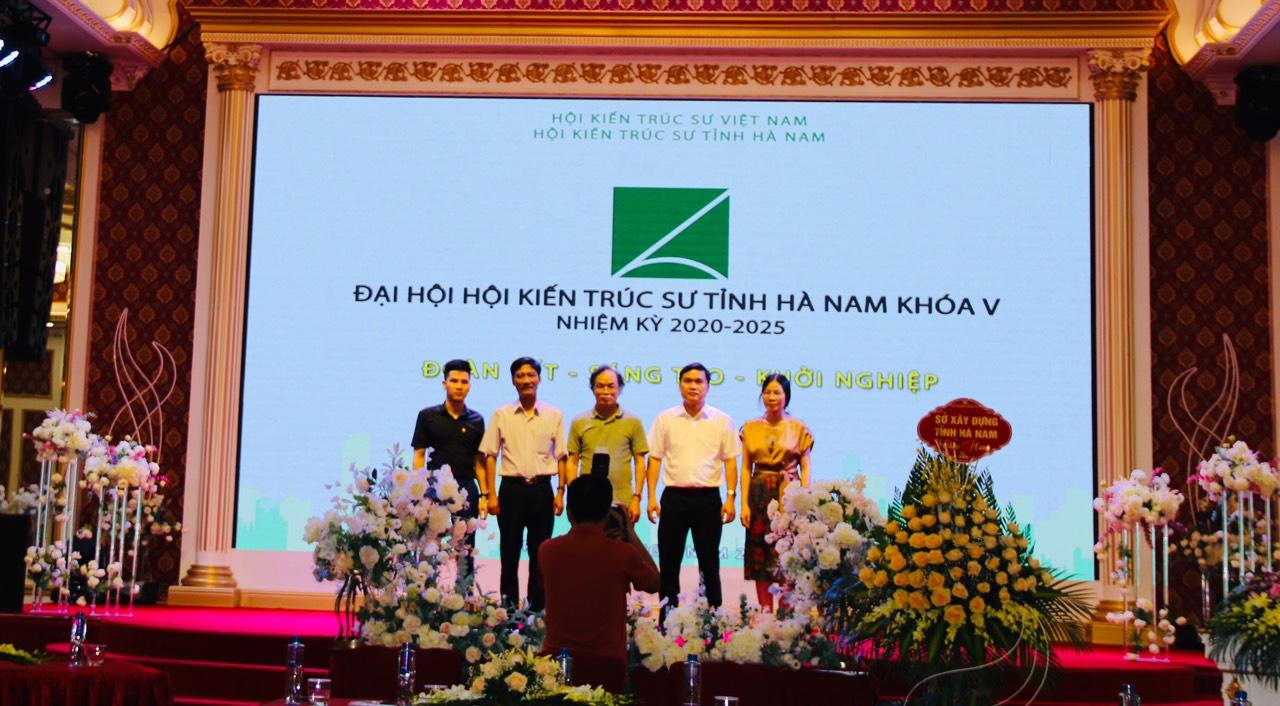 Ban chấp hành Hội KTS Hà Nam khóa mới nhiệm kỳ (2020 - 2025)
