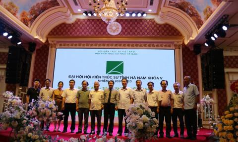 Đại hội Hội Kiến trúc sư tỉnh Hà Nam khóa V, nhiệm kỳ 2020-2025