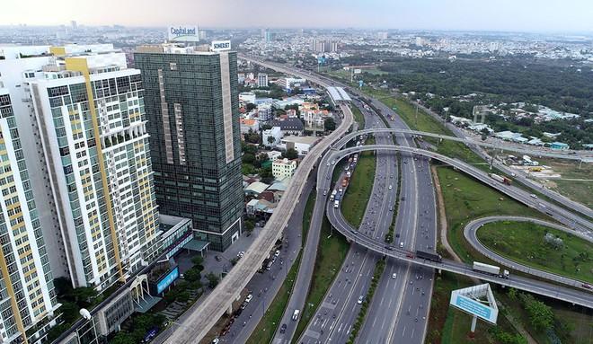 Thành phố ưu tiên phát triển nhà ở lan tỏa theo hệ thống giao thông đô thị, nhất là tuyến metro số 1 ẢNH: NGỌC DƯƠNG