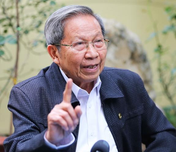 Thiếu tướng, PGS,TS Lê Văn Cương (nguyên Viện trưởng Viện Chiến lược Bộ Công an). Ảnh: Nhân vật cung cấp.