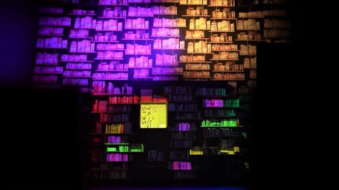 Bookshelf theater
