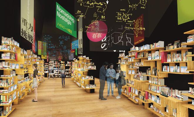 Khu Edit Town với 250.000 cuốn sách được phân theo 9 chủ đề cũng nằm ở tầng thứ tư sẽ giúp bạn hiểu hơn về thế giới. Đây là một mô hình thư viện hoàn toàn mới lạ. Bạn chỉ có thể đọc sách, nhưng bạn có thể đọc ở bất cứ đâu trong tòa nhà này.