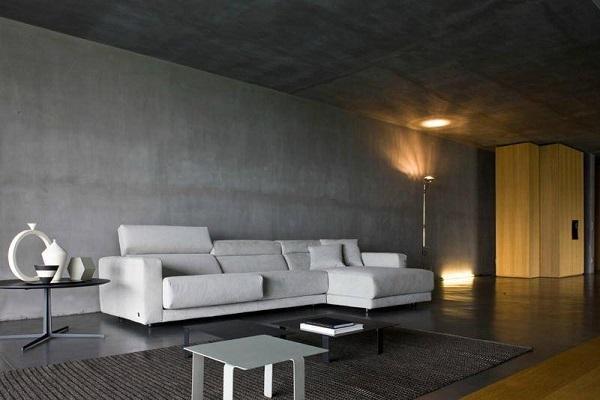 Với phong cách tối giản, sơn hiệu ứng giả bê tông vẫn là sự lựa chọn tạo vẻ hài hòa, đơn giản và tinh tế một cách hiệu quả.