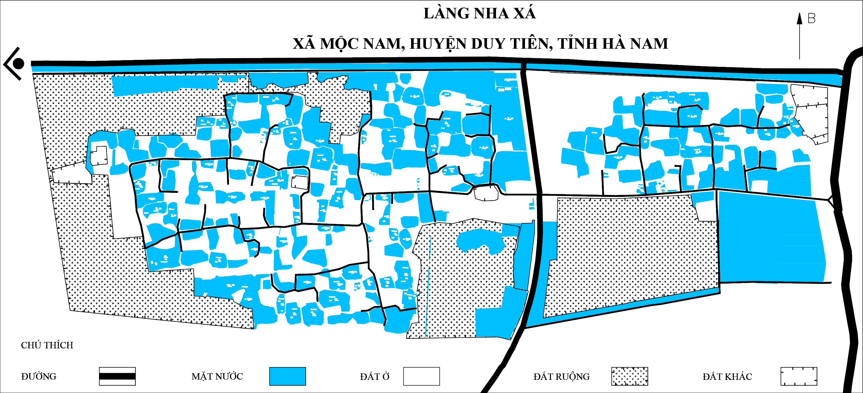 Hình thái KGMN làng Nha Xá, Hà Nam