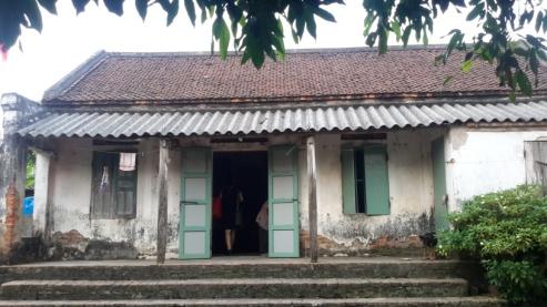 Nhà ở dạng gian thò, gian thụt phổ biến ở vùng ĐBSH